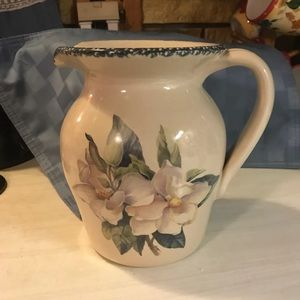 1999 Home and Garden Party Pitcher